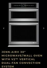 Jenn Air JMW3430DS 30  Microwave Wall Oven With V2 Dual Fan Convection System