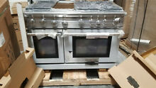 American Range ARR648GDN Cuisine Series 48 Inch Gas Convection Freestanding Rang