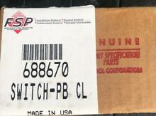 Whirlpool 688670 Switch PB DR Appliance Four Button FSP Factory Specified Parts