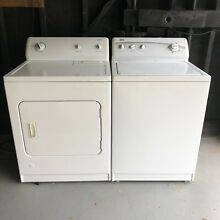 Kenmore Series 500 600 Washer   Dryer   used