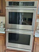 GE MONOGRAM ZET9550SHSS 30 Dual Electric Convection Double Wall Oven New Other