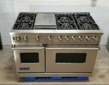 Viking 48  Professional Range VGSC5486GSS Gas 6 Burners   Griddle Stainless