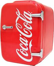 NEW Vintage Coke Chic 4L Cooler Warmer Mini Fridge RV Camper Cars Dorm Office