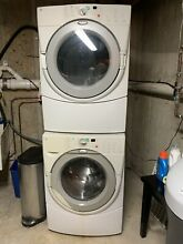 Whirlpool Duet 4 5 Cu  Ft  High Efficiency Natural Gas Dryer And FREE Washer
