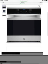 KENMORE ELITE 30  WALL OVEN MODEL 48363 NEW IN BOX COST  2999