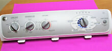 GE WJRE5550K2WW WASHER CONTROL PANEL  PART   WH42X10745   WITH FREE SHIPPING