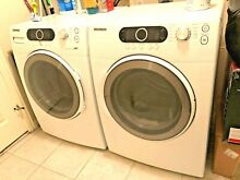 Samsung Extra Large Front Loader Washer and Dryer  VRT WF337  Local Pickup Only