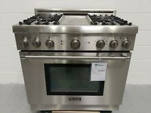 Thermador PRD364EDHU 36  Range with Griddle  Dual Fuel