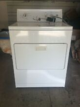 Used Preowned White Kenmore 220 Front Load Dryer