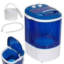 9 lbs Portable Compact Washing Machine Mini Laundry Washer Idea Drain Pump Hose