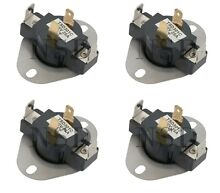 4 PCS 3387134 306910 3387139 Dryer Cycling Thermostat for Whirlpool Kenmore Mayt
