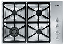 Miele KM3464 Stainless Steel 30 in  Gas Gas Cooktop