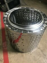Stainless Washer Drum for DIY Fire Pit Solo Stove Not for Repair Part