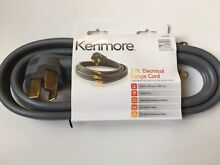 Kenmore   22 49695 Electrical Range Cord   5 Foot  3 Wire  50 Amp  250 Volts A5
