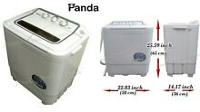 Panda Small Compact Portable Washing Machine 7 9 Lbs Capacity with Spin Dryer