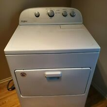 Dryer Whirlpool Electric WED5000DW2 Local Pickup Michigan