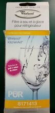 Whirlpool PUR 8171413 KitchenAid Refrigerator Ice   Water Filter