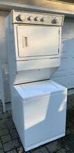 Washer Dryer  Twin Combo Stacked  Whirlpool LTE6234DQO