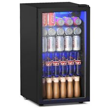 120 Can Beverage Mini Refrigerator w  Glass Door