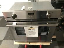 Summit SGWO30SS 30 Inch Wide 3 Cu  Ft  Single Gas Oven with Convection Open Box