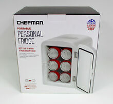 CHEFMAN PORTABLE PERSONAL FRIDGE COOLING AND HEATING  4LTS