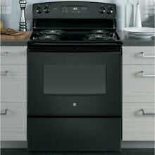 Electric Range Stove Freestanding Cooktop 4 Burners 30  5 cu Kitchen  Oven USA