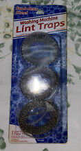 Washing Machine Lint Trap  Package of 3  New old stock