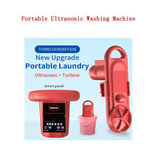 Turbine Semi Automatic Compact Laundry Machine Small for Camping Apartment Home