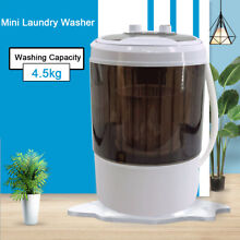 Mini Washer Laundry Machine Electric Compact Washer Dryer Combo for Apartments