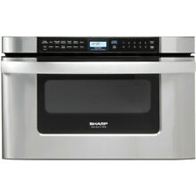 Sharp KB6524PSY 950W Built in Microwave Drawer Oven Box Wear  Local Pick Up NJ