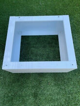Frigidaire FPDW1 13  White Laundry Pedestal   Pick up only in Los Angeles  LAX