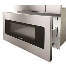 Sharp 24 in  Microwave Drawer w  Concealed Controls Stainless Steel SMD2470ASY