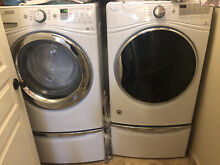 Whirlpool front loading washer and Electric dryer