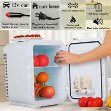 Portable Mini Fridge Table Top Electric Small Cooler Bedroom Ice Box Office 20L