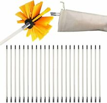 30 Feet Dryer Vent Cleaner Dryer Duct Cleaning Kit Dryer Vent Clean Brush Set