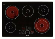 LG 30  5 Heating Elements Smoothtop Electric Cooktop LCE3010SB 2020 Model New