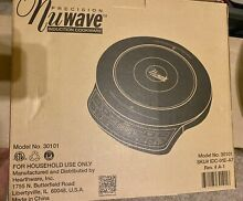 Precision Nuwave Induction Cookware Cooktop Model 30101
