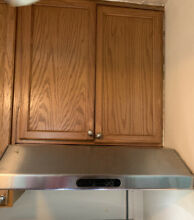 30 in Ductless Stainless Steel Undercabinet Range Hood Preowned
