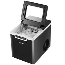 Costway Portable Ice Maker Machine Countertop 26Lbs 24H Self Cleaning Black