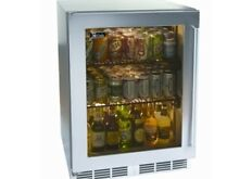 Perlick 24  Indoor Beverage Center Stainless Steel Glass Door  HP24BS 3 3L