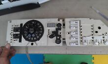 7DD68 MAIN DISPLAY PANEL FROM KENMORE ELITE WASHING MACHINE  WITHOUT THE TRIM