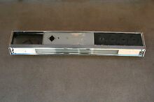 Vintage Frigidaire Cookmaster Electric Range Oven Upper Assemby Trim Glass Light