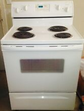 Whirlpool White 29 88 in  Electric Cooktop