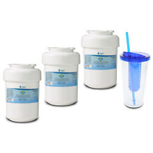 Fits GE MWF SmartWater MWFP 46 9991 WF287 Comparable Water Filter 3 pPack