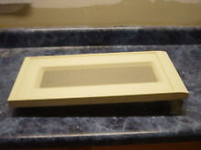 KITCHEN AID MICROWAVE ALMOND DOOR PART   4358560