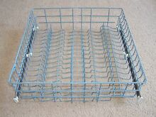 R0910003 AMANA DISHWASHER UPPER RACK ASSEMBLY WITH GLIDES R0910111  BLUE