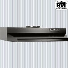 BLACK OVER THE STOVE RANGE HOOD Ducted 30  Exhaust Fan Under Kitchen Cabinet NEW