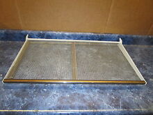 HOTPOINT REFRIGERATOR SHELF WITH MEAT PAN RAILS PART  WR32X1203
