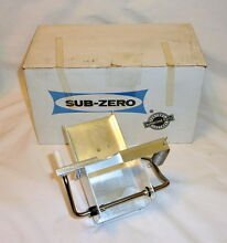 Genuine Sub Zero 818737 Refrigerator Ice Maker Dispenser Sensor Return