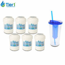 Fits GE MWF SmartWater MWFP 46 9991 WF287 EFF 6013A Comparable Water Filter 6PK